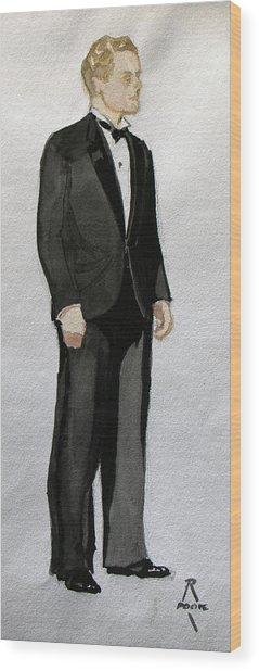 Gatsby Study 1 Wood Print
