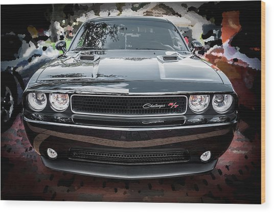 2013 Dodge Challenger  Wood Print