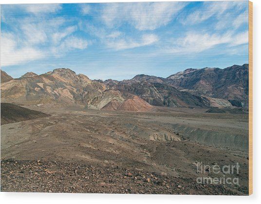 Artist Drive Death Valley National Park Wood Print