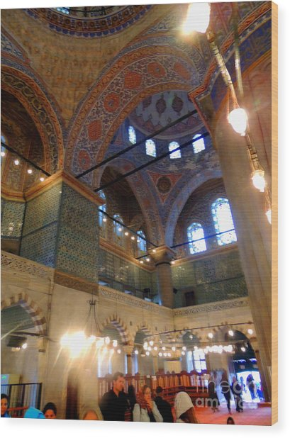 Blue mosque istanbul turkey photograph by paul sandilands for Blue istanbul hotel taksim