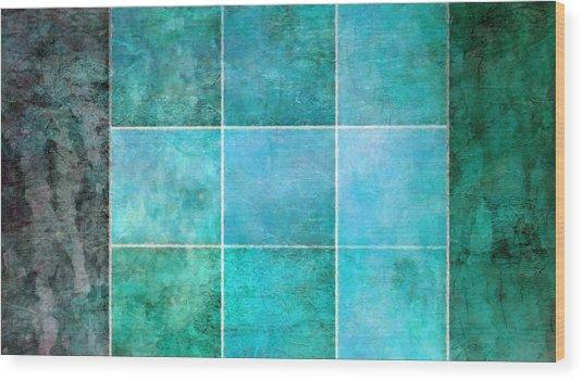 3 By 3 Ocean Wood Print