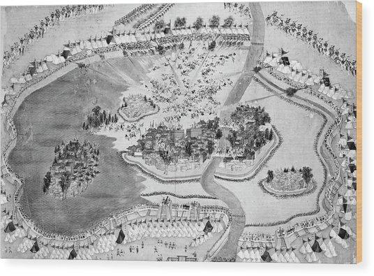 China Taiping Rebellion Wood Print
