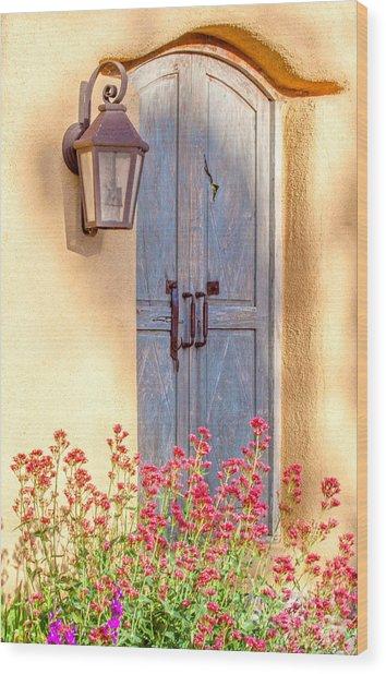 Doors Of Santa Fe Wood Print