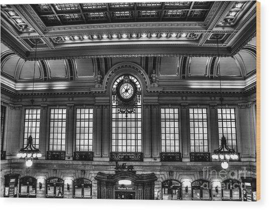 Hoboken Terminal Wood Print