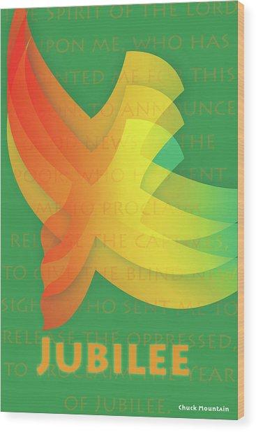 Jubilee Wood Print