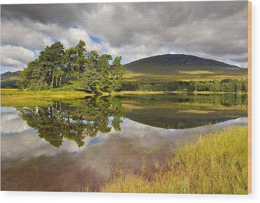 Loch Tulla Wood Print