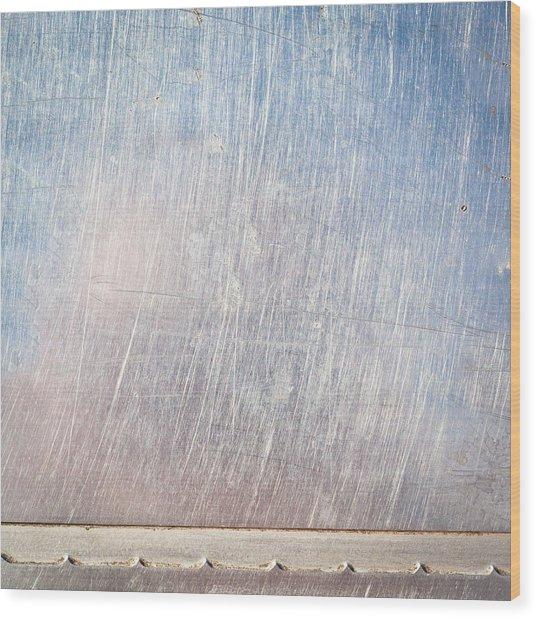 Metallic Background Wood Print