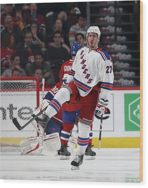 New York Rangers V Montreal Canadiens - Wood Print