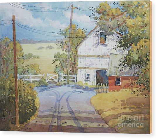 Peaceful In Pennsylvania Wood Print