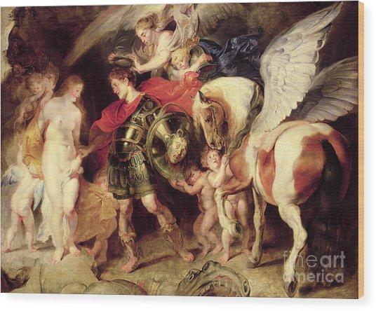 Perseus Liberating Andromeda Wood Print