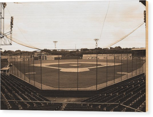 Rickwood Field Wood Print