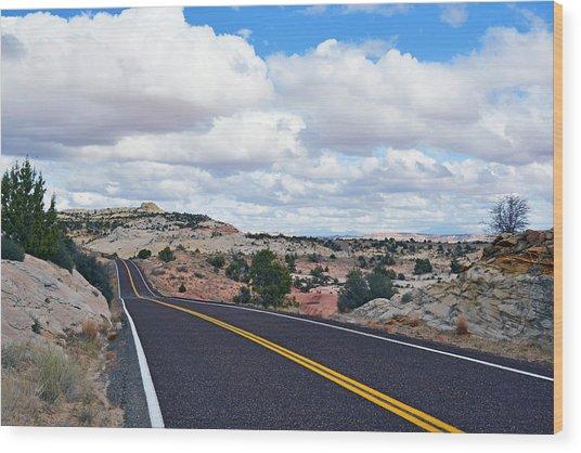 Route 12 - Utah Wood Print