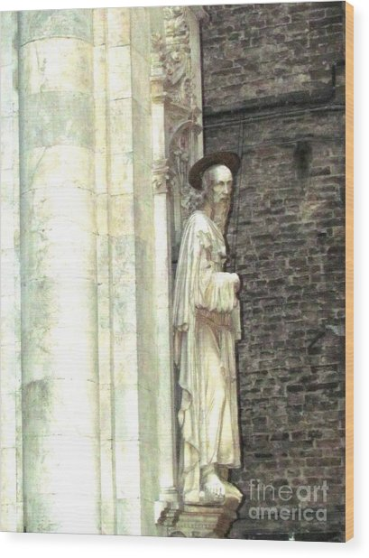 Siena Sculpture Wood Print