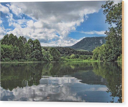 South Fork Shenandoah River Wood Print