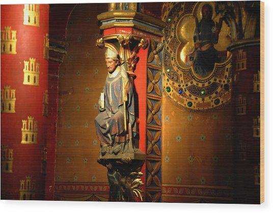 Ste.-chapelle Wood Print by Jacqueline M Lewis