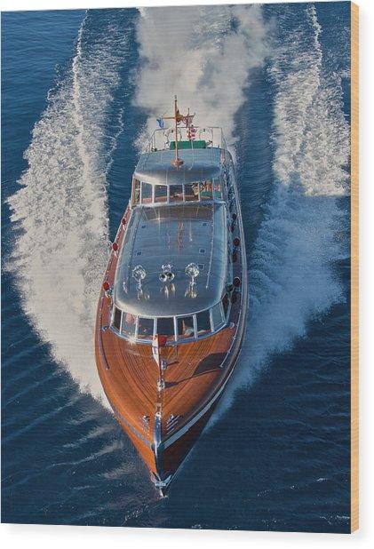 The Thunderbird Yacht Wood Print