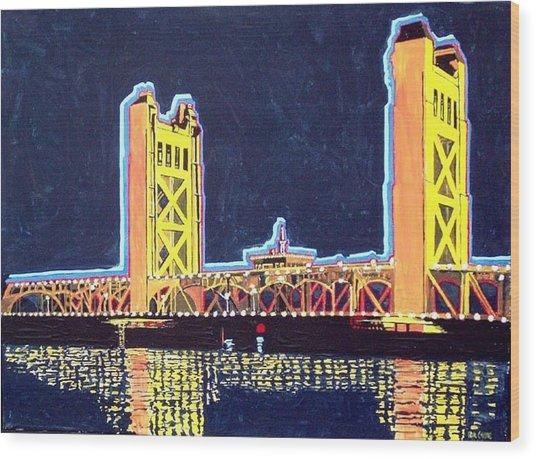 Tower Bridge Wood Print by Paul Guyer
