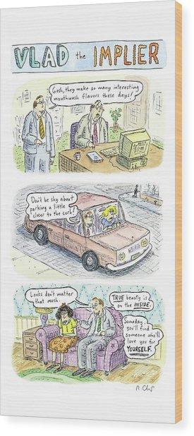 New Yorker May 19th, 2008 Wood Print