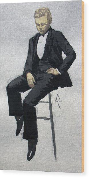 Gatsby Study 3 Wood Print