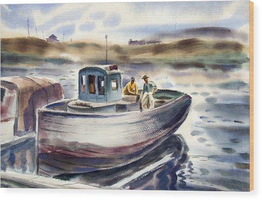 Gig Harbor Wood Print