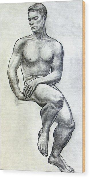 Physical Culture Wood Print