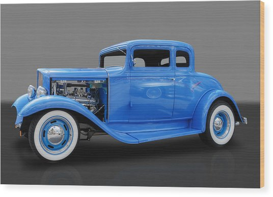 1932 Pontiac Sport Coupe 5 Window Wood Print