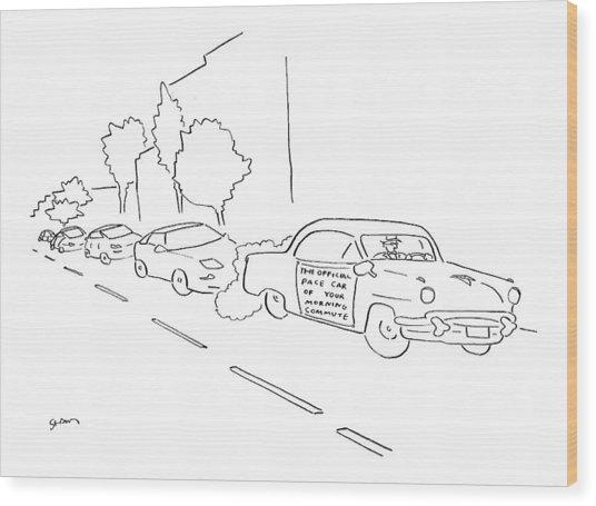 New Yorker January 16th, 2006 Wood Print