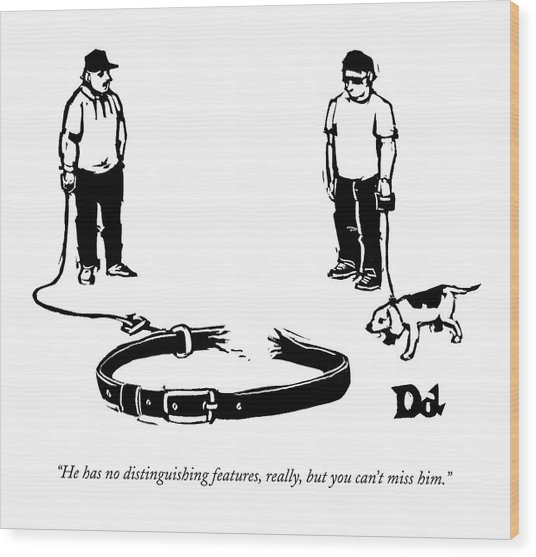New Yorker September 28th, 2009 Wood Print