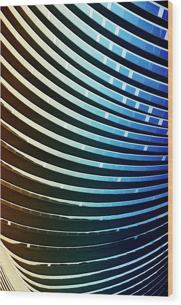 Study Of Patterns And Lines Wood Print by Roland Shainidze Photogaphy