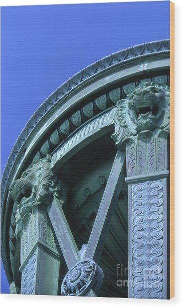 35x11 Perrys Victory Memorial Photo Wood Print