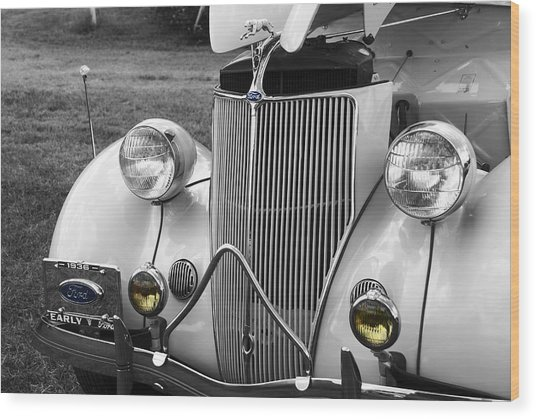 '36 Ford Coupe Wood Print