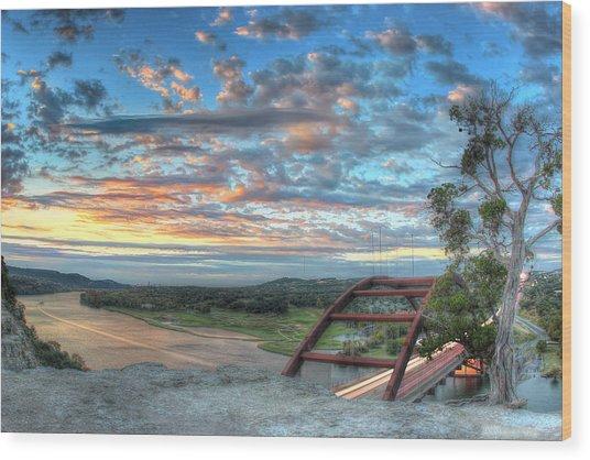 360 Bridge Wood Print