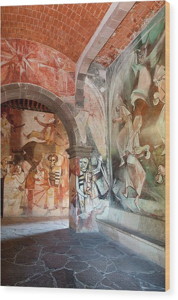 Mexico, San Miguel De Allende Wood Print