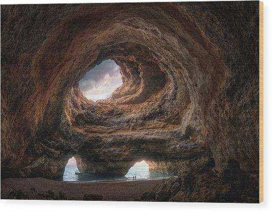 3rd Eye Cave Wood Print