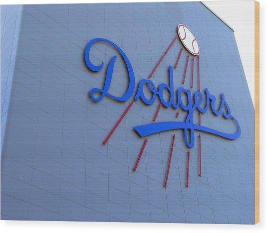 Los Angeles Dodgers Wood Print