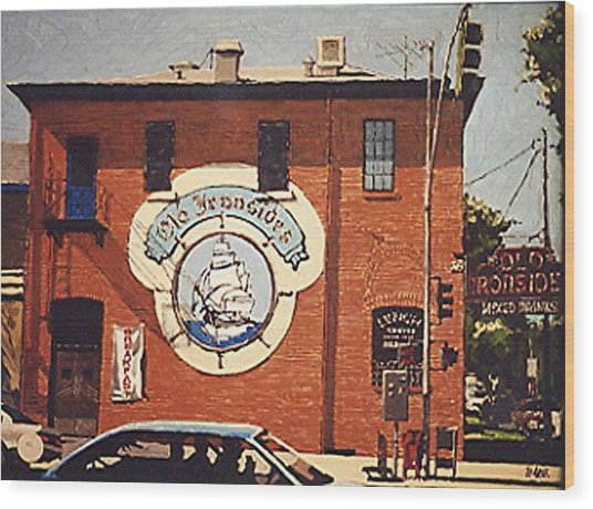 Old Ironsides Wood Print by Paul Guyer