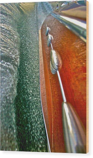 Classic Riva Aquarama Wood Print