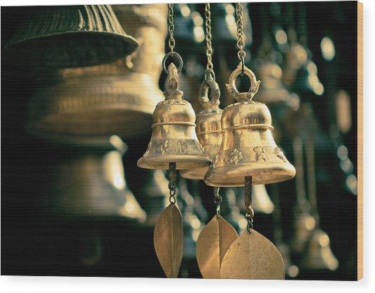 Sacrificial Bells Wood Print