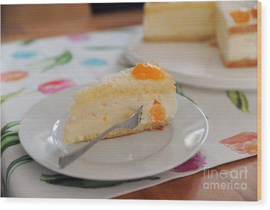 Torte Wood Print