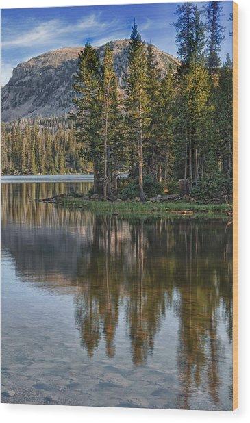 Uinta Mountains Utah Wood Print