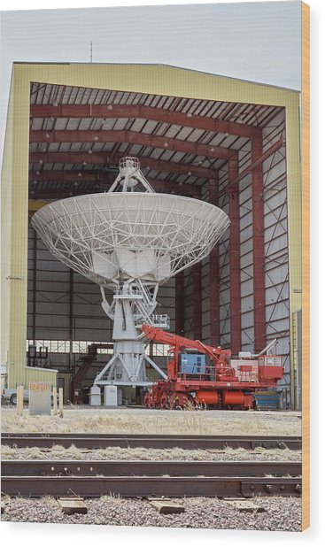 Very Large Array Antenna by Jim West/science Photo Library