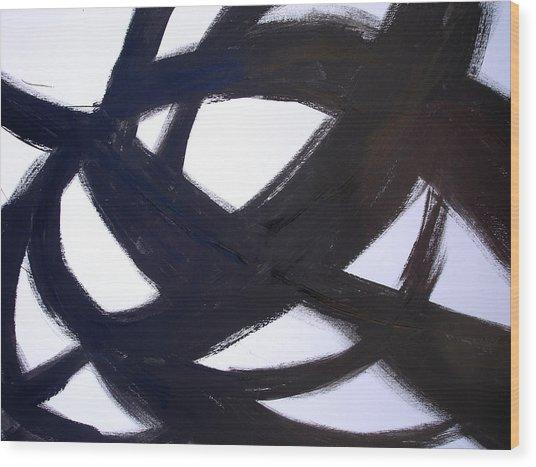 40x60 Abstract Art Painting Modern Robert R Print Limited Edition Wood Print