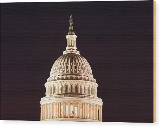 Washington Dc, Usa Wood Print