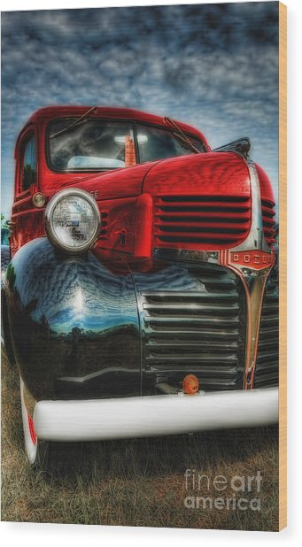 47 Dodge Pickup Wood Print