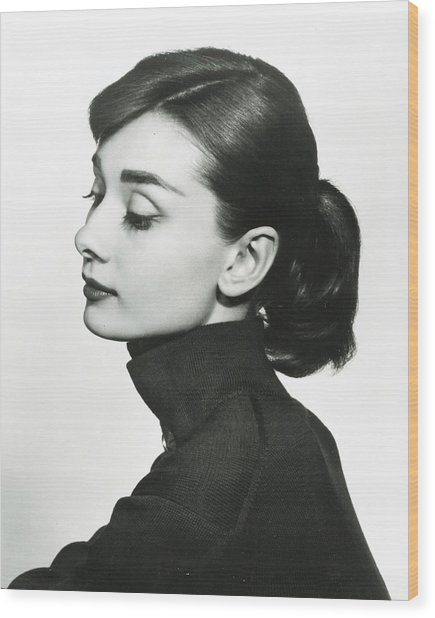 Audrey Hepburn Wood Print by Retro Images Archive