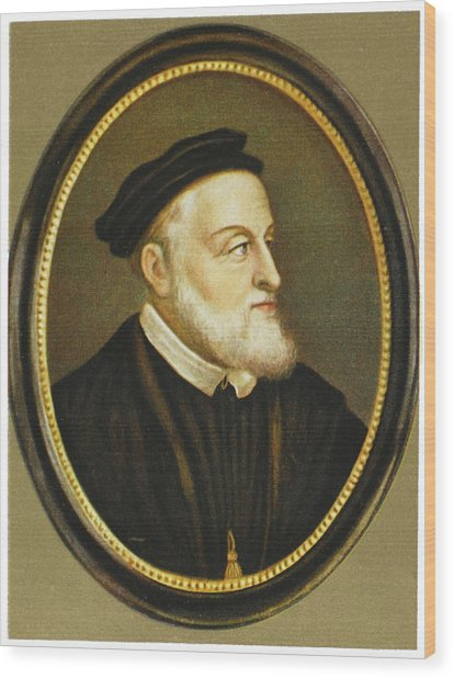 Carl V / Karl V Holy Roman Emperor Wood Print by Mary Evans Picture Library