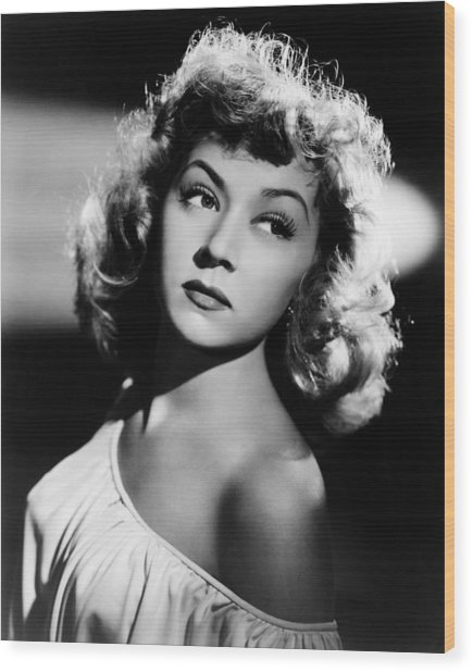 Gloria Grahame Wood Print