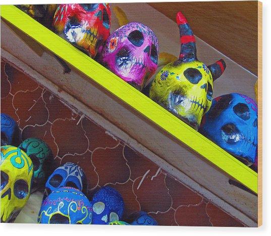 Oaxaca Mexico Wood Print