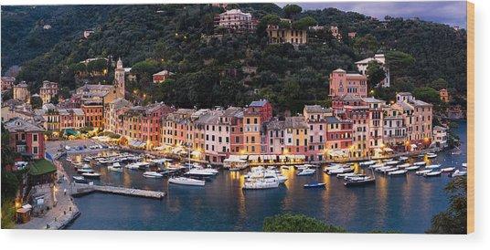 Portofino Italy Wood Print