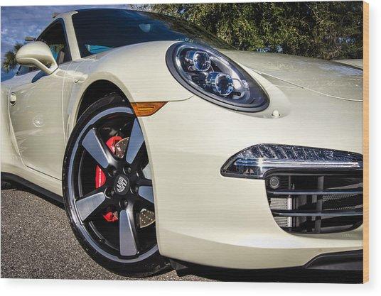 50th Anniversary Porsche 911 Wood Print